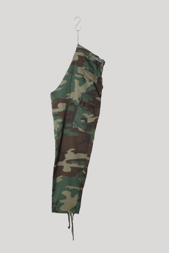 90s Woodland BDU Combat Trousers (S-S)