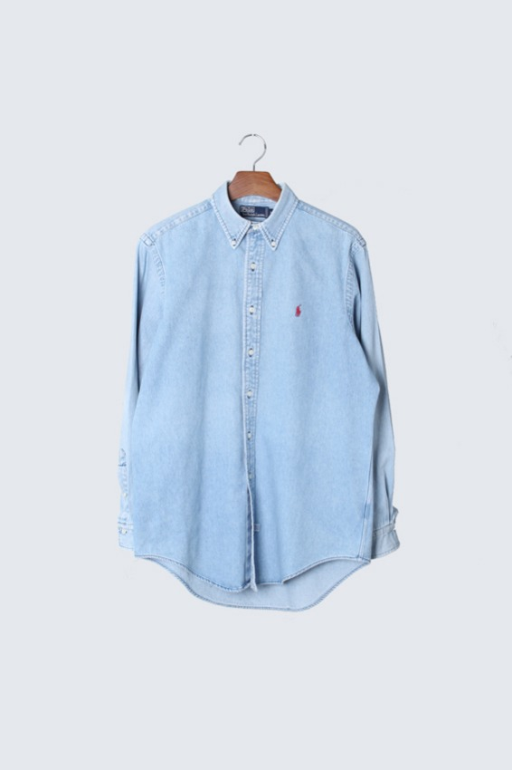 90s Polo Ralph Lauren Denim Shirts (M)