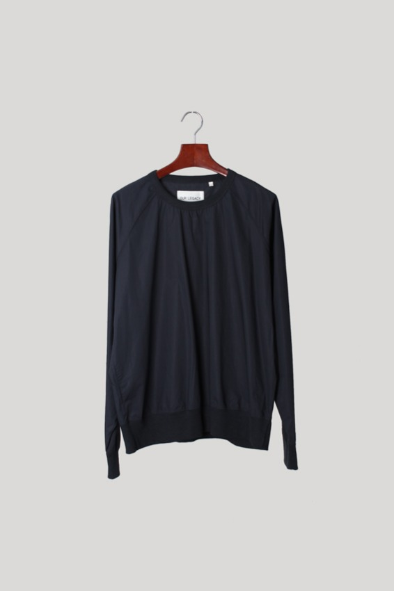 Our Legacy Navy Top Cotton Pullover (52)