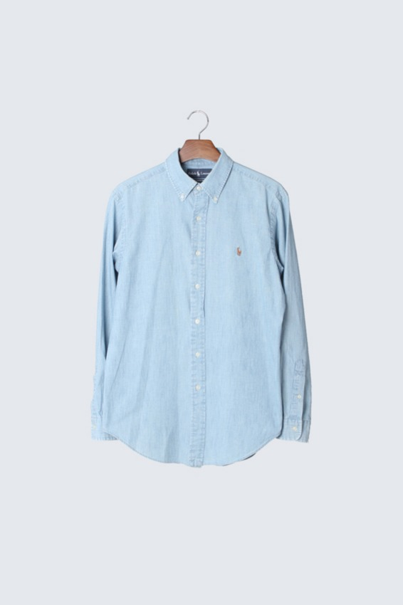 90s Polo Ralph Lauren Chambray Shirts (M)