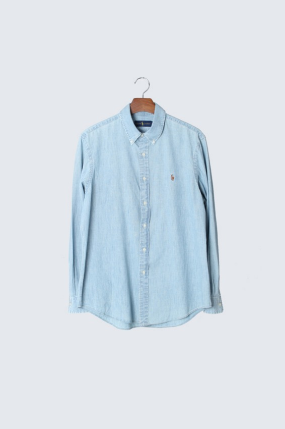 90s Polo Ralph Lauren Chambray Shirts (L)
