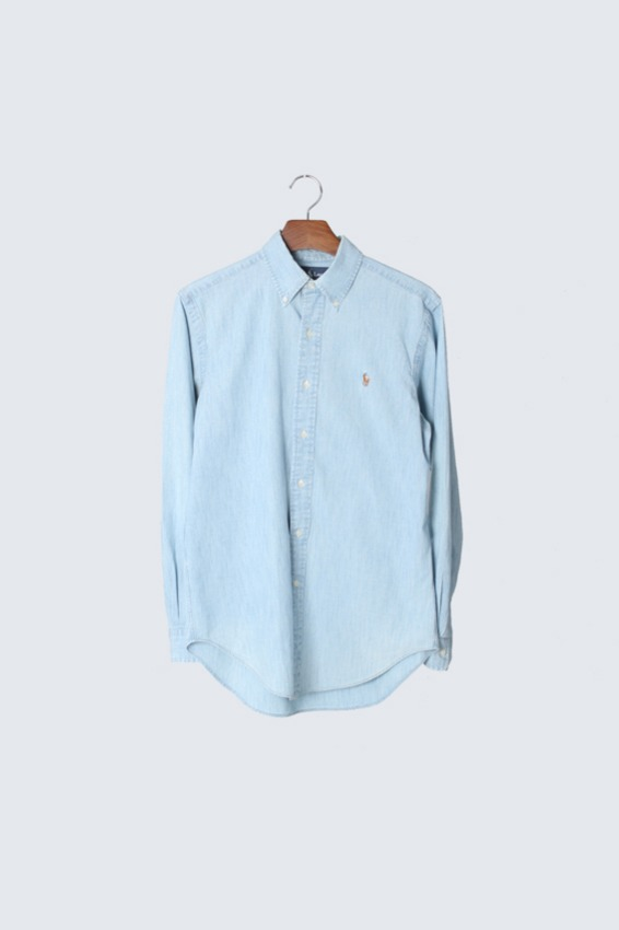 90s Polo Ralph Lauren Chambray Shirts (S)