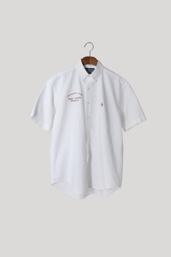 Polo Ralph Lauren 'BLAKE' Oxford Half Sleeve Shirts (M)