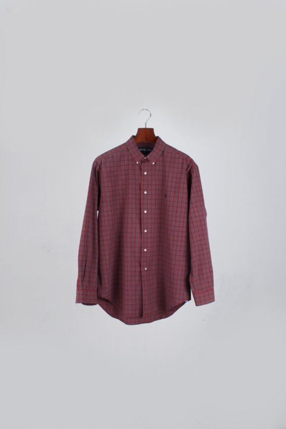 Ralph Lauren Plaid Shirt (L)