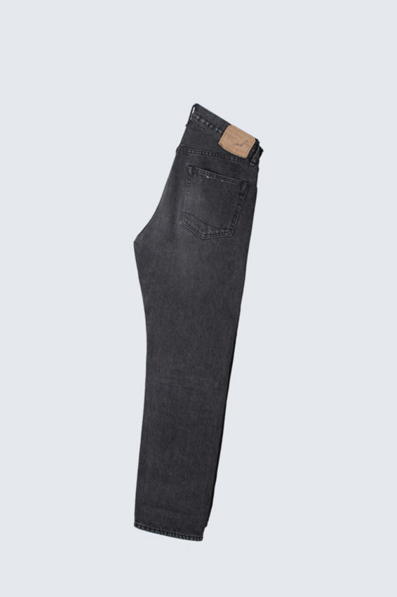Orslow 105W Black Denim Pants (2)