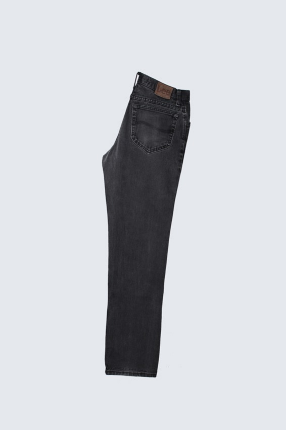 90s Lee Black Denim Pants (31X32)
