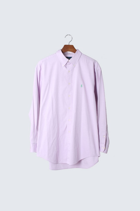 Polo Ralph Lauren 'YARMOUTH' Pinpoint Oxford Shirts (17-34/35)