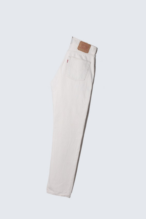 90s Levis 534 White Denim Pants (32x32)