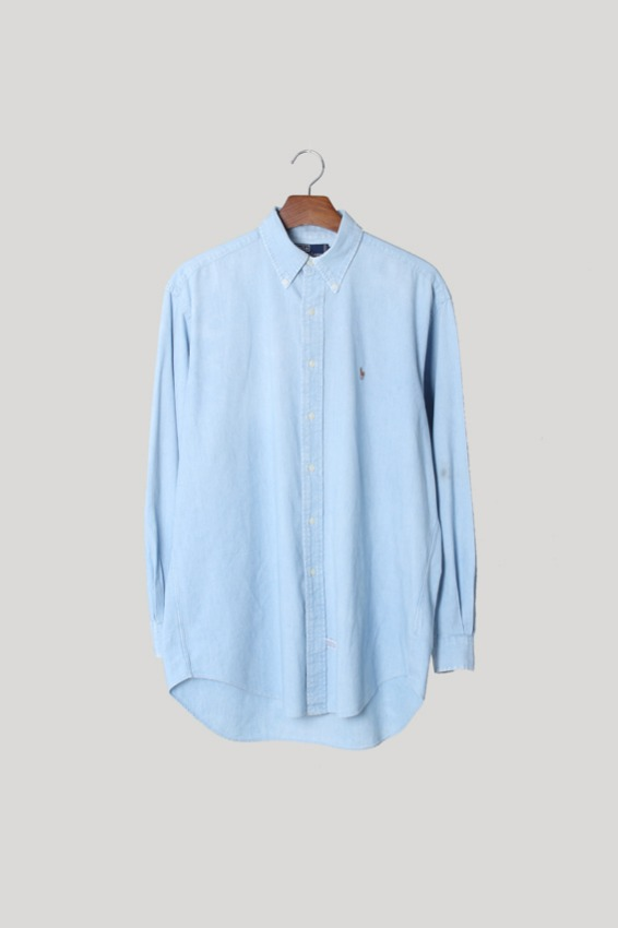 Polo Ralph Lauren Chambray Shirts (M)