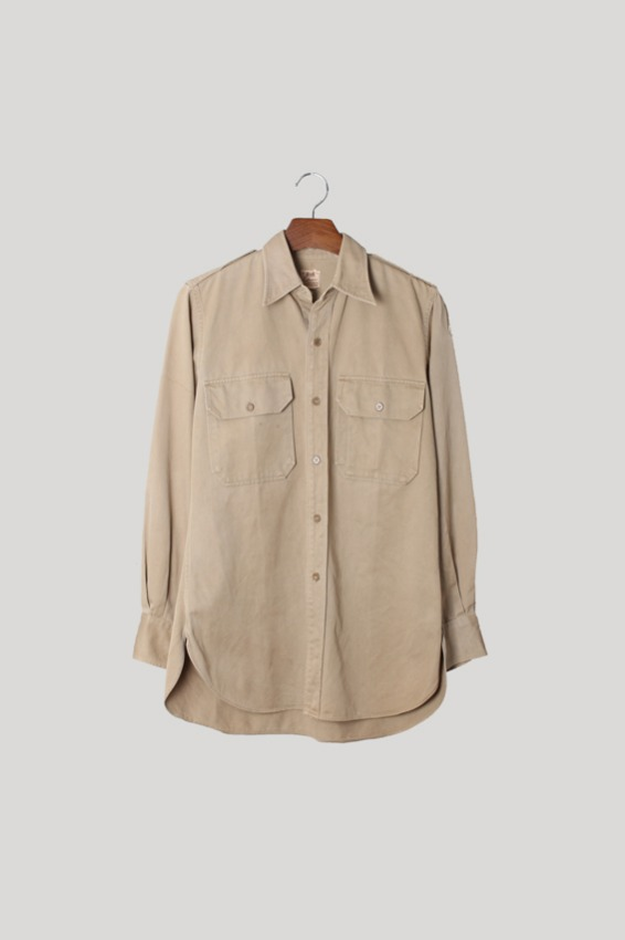 50s US Army Officer Shirt