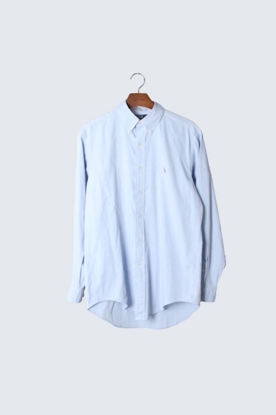 Polo Ralph Lauren 'YARMOUTH' Pinpoint Oxford Shirts (15 1/2)